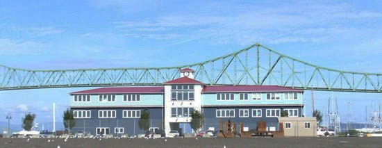 Port of Astoria 10 Pier 1 Building